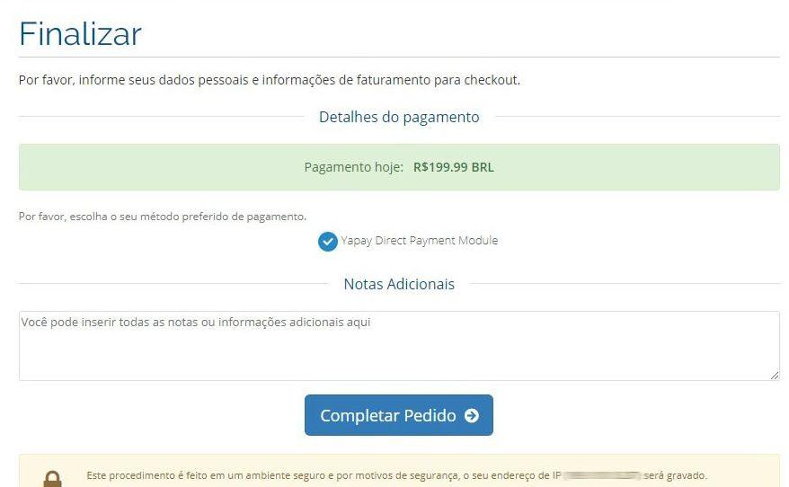Yapay Payment Gateway